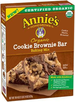 Annie's™ Organic Cookie Brownie Bar Baking Mix 18.4 oz. Box