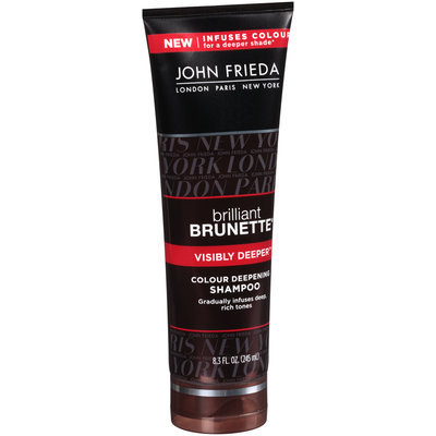 John Frieda® Brilliant Brunette® Visibly Deeper™ Colour Deepening Shampoo 8.3 fl. oz. Tube