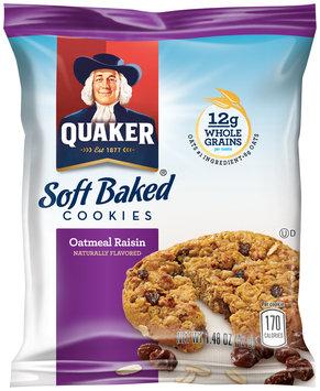Quaker® Soft Baked Oatmeal Raisin Cookies