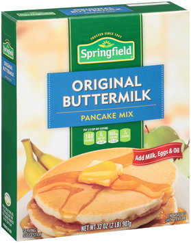 Springfield® Original Buttermilk Pancake Mix 32 oz. Box