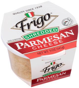 Frigo® Shredded Parmesan Cheese 5 oz. Tub