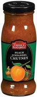 Crosse & Blackwell  Peach Zinfandel Chutney 7.75 Oz Glass Bottle