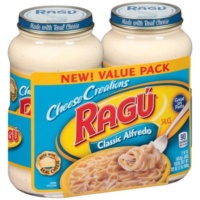 Ragu® Cheese Creations Classic Alfredo Sauce 2-16 oz. Jars