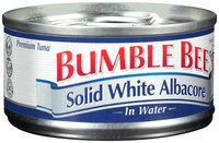 Bumble Bee Solid White Albacore Tuna in Water 3 oz. Can