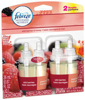 Febreze NOTICEables Wildberries & Honey Dual Scented Oil Refill Value Pack 2-0.87 fl. oz. Carded Pack