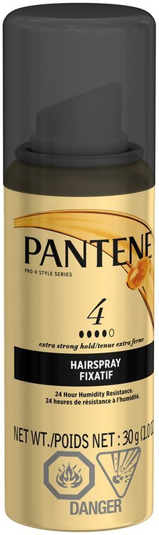 Styling Pantene Pro-V Extra Strong Hold Hair Spray 30g (trial size)