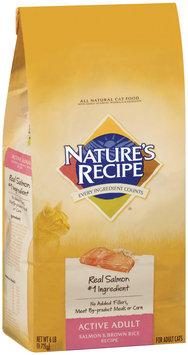 Nature's Recipe® Active Adult Salmon & Brown Rice Recipe Cat Food 6 lb. Bag