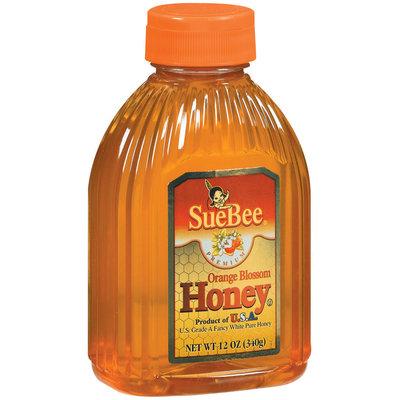 SueBee Orange Blossom Honey 12 Oz Plastic Bottle