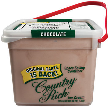 Country Rich® Chocolate Ice Cream 4.25 l pail