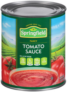 Springfield® Fancy Tomato Sauce 29 oz. Can