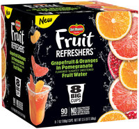 Del Monte® Fruit Refreshers™ Grapefruit & Oranges in Pomegranate Flavored Slightly Sweetened Fruit Water
