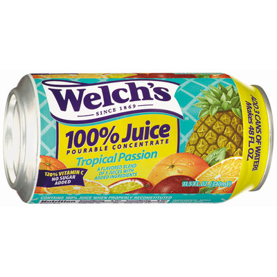 Welch's® 100% Juice Tropical Passion