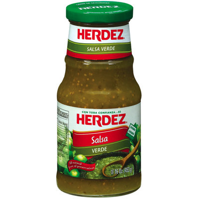 Herdez® Verde Salsa 16 oz. Jar