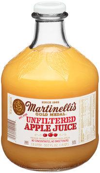 Martinelli's Gold Medal® 100% Pure Unfiltered Apple Juice 50.7 fl. oz. Bottle