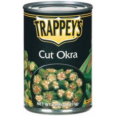 Trappey's Cut Okra 14.5 Oz Can