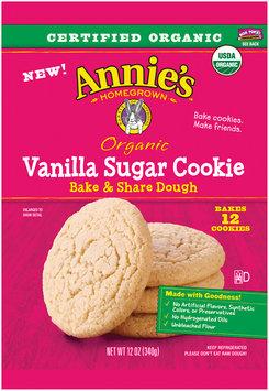 Annie's™ Organic Vanilla Sugar Cookie Bake & Share Dough 12 ct Pack