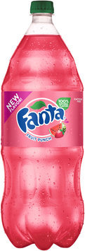 Fanta® Fruit Punch Soda 2 L Plastic Bottle