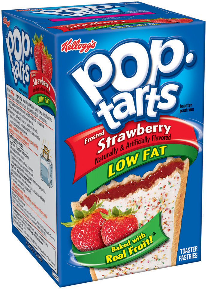 Kellogg's Pop-Tarts, Low Fat Frosted Strawberry