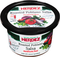 Herdez® Medium/Hot Roasted Poblano Salsa 15 oz. Tub
