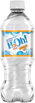 H2Oh!® Orange Sparkling Water Beverage 6 Pack 20 fl. oz. Plastic Bottles