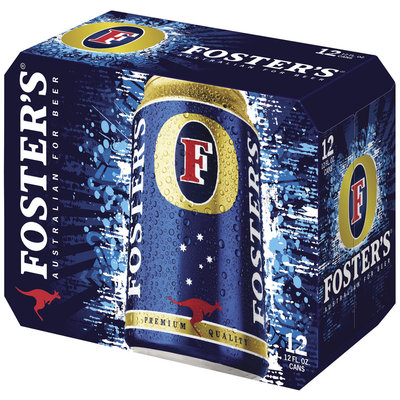 Foster's 12 Oz Lager 12 Pk Cans