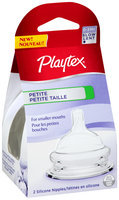 Playtex® Petite 0-3m+ Slow Flow Silicone Nipples 2 ct. Peg