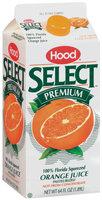 Hood Orange Select Premium 100% Juice 64 Oz Carton