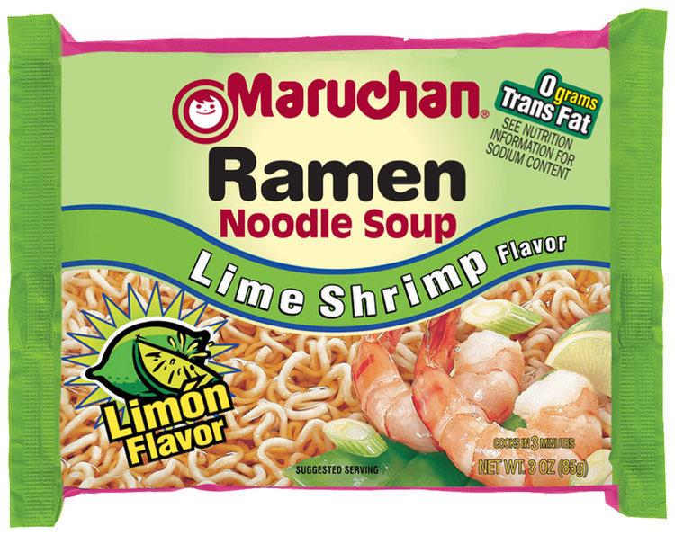 Maruchan Ramen Noodle Soup Lime Shrimp Flavor