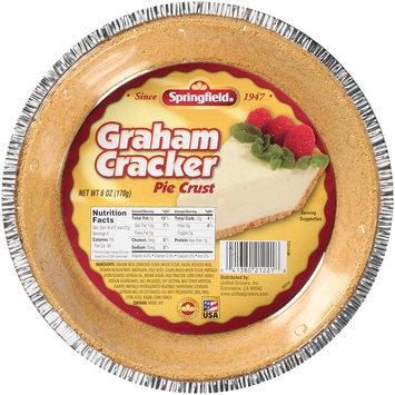 Springfield® Graham Cracker Pie Crust 6 oz. Tin