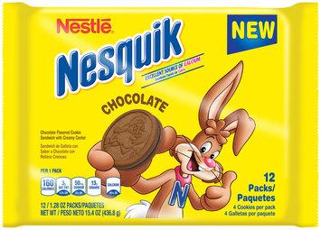Nestlé® Nesquik Chocolate Cookie Sandwich 12 ct Packs