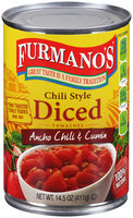 Furmano's® Chili Style Diced Tomatoes with Ancho Chili & Cumin 14.5 oz. Can