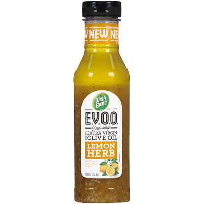 Wish-Bone® E.V.O.O. Lemon Herb Dressing 12 fl. oz. Bottle