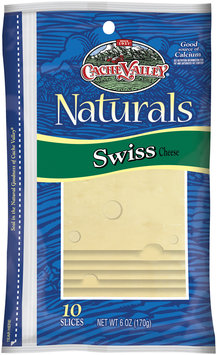 Cache Valley Naturals Swiss 10 Ct Slices Cheese 6 Oz Peg