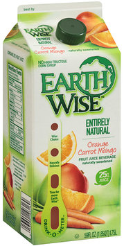 Earth Wise™ Orange Carrot Mango Fruit Juice Beverage 59 fl. oz. Carton