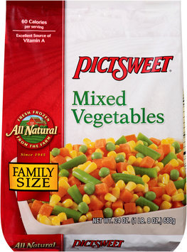 Pictsweet® Mixed Vegetables 24 oz. Stand Up Bag