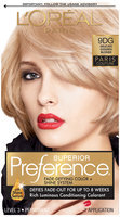 Superior Preference Hair Color Delicate Golden Blonde 9DG Box