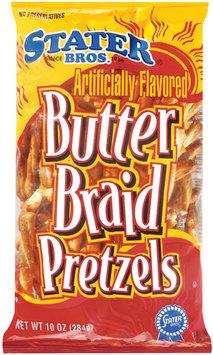 Stater Bros. Butter Braid Pretzels 10 Oz Bag