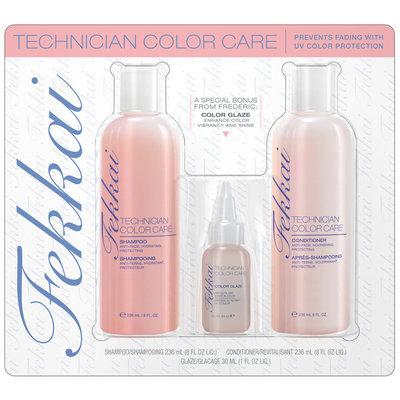 Fekkai Technician Color Care Hair Care Kit Carded Pack