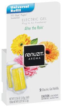 Renuzit After The Rain Electric Gel Air Freshener Refills 2 Ct Box