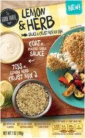 The Good Table™ Lemon & Herb Sauce & Crust Mix for Fish 7 oz. Box