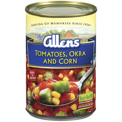 The Allens  Tomatoes Okra & Corn 14.5 Oz Can