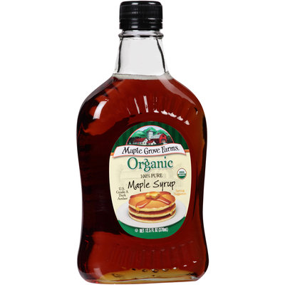 Maple Grove Farms® Organic 100% Pure Maple Syrup 12.5 fl. oz. Bottle