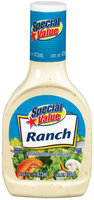 Special Value Ranch Dressing 16 Oz Plastic Bottle