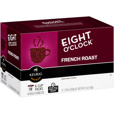 Eight O'Clock® French Roast Dark Roast Coffee 12 ct K-Cup® Packs