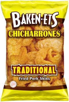 Baken-ets Chicarrones Traditional Fried Pork Skins 1.5 oz. Bag
