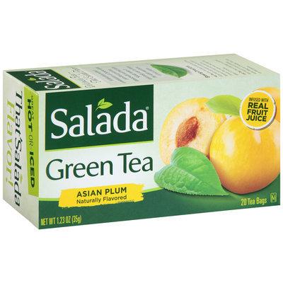 Salada® Asian Plum Green Tea Bags 1.23 oz. Box