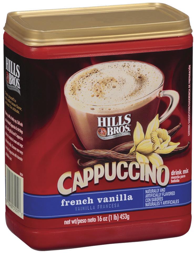 Hills Bros French Vanilla Cappuccino