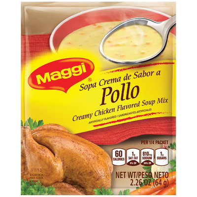 MAGGI Creamy Chicken Flavored Soup Mix 2.26 oz. Packet