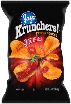 Jays® Krunchers!® Kettle Cooked Potato Chips Sriracha 8 oz. Bag