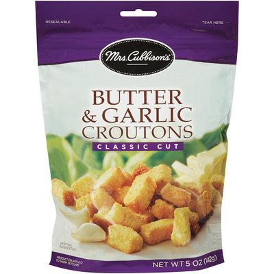 Mrs. Cubbison's® Butter & Garlic Croutons Classic Cut 5 oz